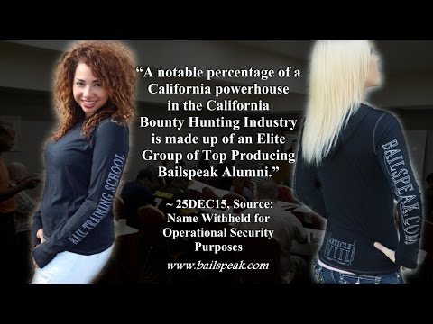 California Bounty Hunting Training School - Pre-Licensing