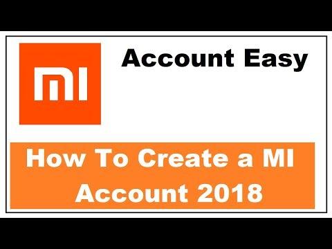 How to Create A MI Account