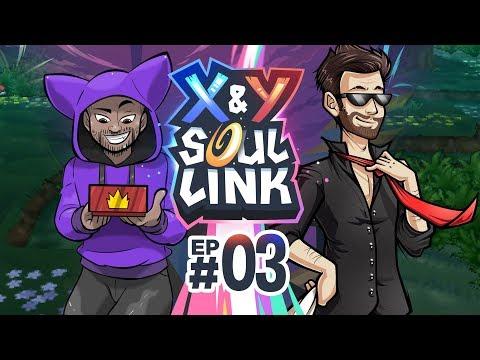 DO MY EYES DECEIVE ME?! | Pokémon X & Y Soul Link Randomized Nuzlocke w/ TheKingNappy Ep 03