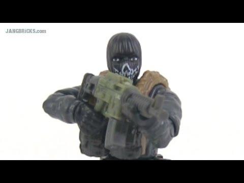 Mega Bloks Call of Duty: Ghosts Exclusive mini-figure!