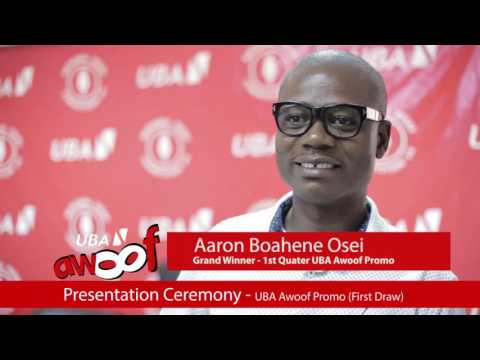 First Draw of UBA Ghana Awoof Promotions | Pulse Events