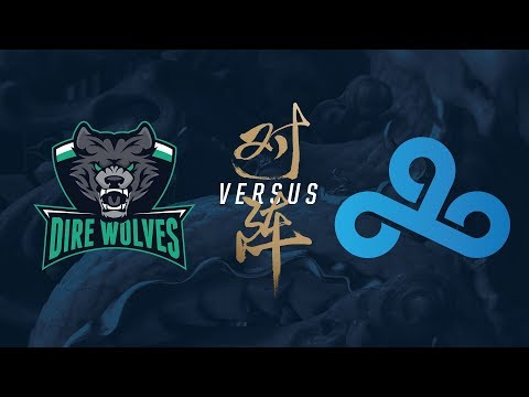 DW vs. C9 | Play-In Day 1 | 2017 World Championship | Dire Wolves vs. Cloud9