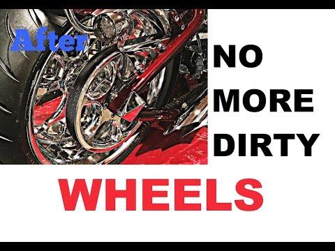 How To Polish Chrome & Aluminum & Keep the Road Grime Off!