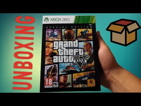 Grand Theft Auto 5 Special Edition - unboxing