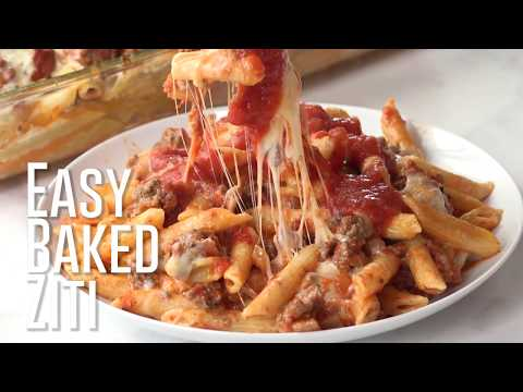 How to make: Easy Baked Ziti