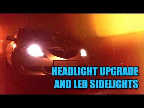 Headlight & LED Sidelight Bulb Replacement (Mazda 3) - S02E07