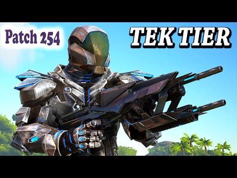 10] Tactical Tek Armor Crafting! (Modded Ark Survival) - Tek Gear