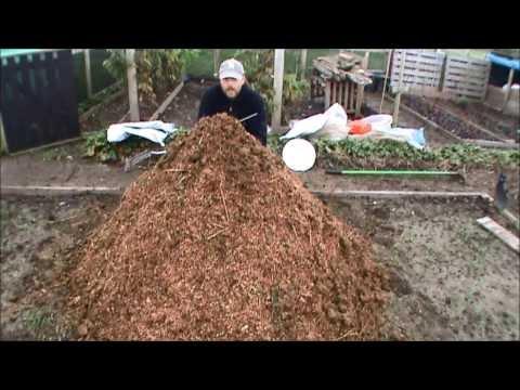 Horse manure preparation