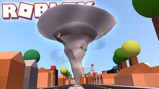 Roblox Adventures - ALEX & CORL SURVIVE A TORNADO IN ROBLOX! (Tornado Alley)
