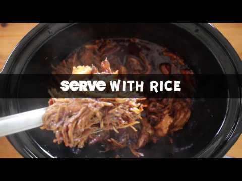 Slow Cooker Sweet and Spicy Pulled Pork
