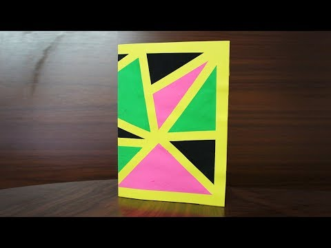 How to make Birthday Cards with A4 size paper - Beautiful Cards for Birthday