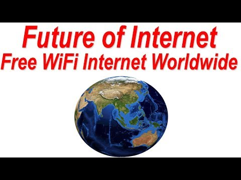 Free WiFi Internet Worldwide ! Future of Internet (use Internet without Mobile Coverage Worldwide)