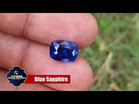 Neelam Blue Sapphire - Buy Original Blue Sapphire Stone Online by Tajmahal Gems World