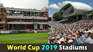 Cricket World Cup 2019 England All Stadiums