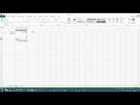 Excel 2013: Date Functions