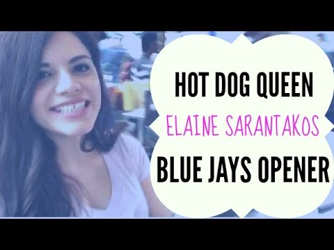 Hot Dog Queen at Blue Jays Opener