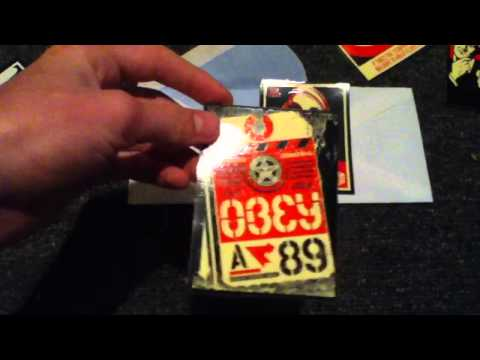 How to get FREE Obey stickers!
