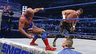 Historic 15-Man Royal Rumble Match: SmackDown: Jan. 29, 2004