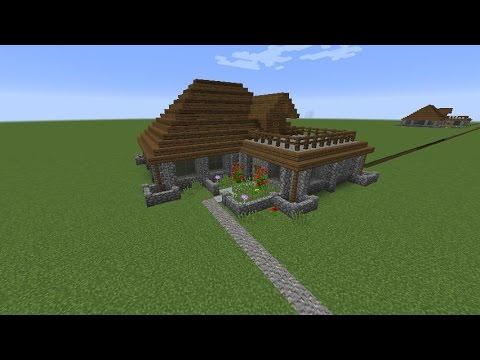 Minecraft Build Tutorial: How to Build A Cozy Cobblestone House Tutorial