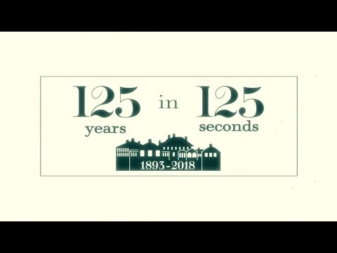 125 Years in 125 Seconds