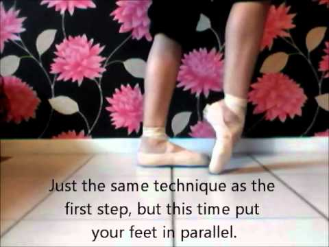 How to bend your new pointe shoes.
