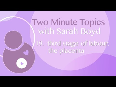 19 - Third Stage of Labour - The Placenta