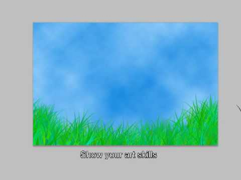 Photoshop Tutorials Create Artistic Grass
