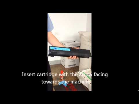 Tutorial 1: How to replace a toner cartridge