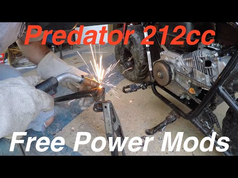 Prepping for the Drag Race: Modding the Predator 212cc