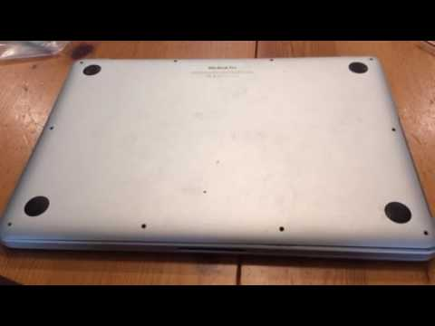 Erratic Keyboard and Trackpad repair For Macbook Pro Retina early 2015