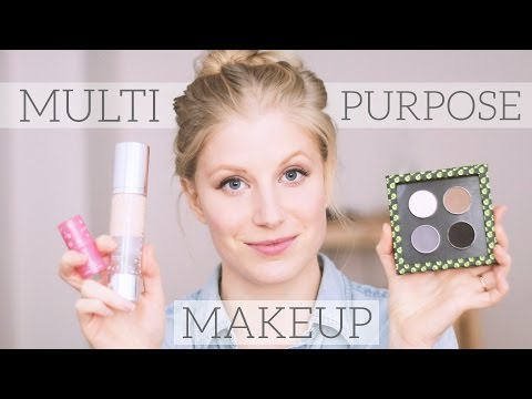 Versatile Makeup for a Minimal Collection | green beauty