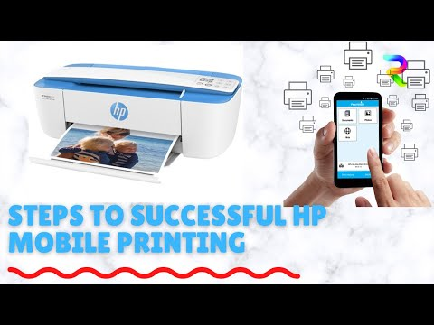 Mobile printing with HP 3635