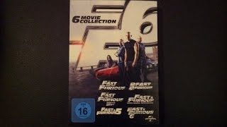Fast & Furious Movie Collection (1-6) Unboxing