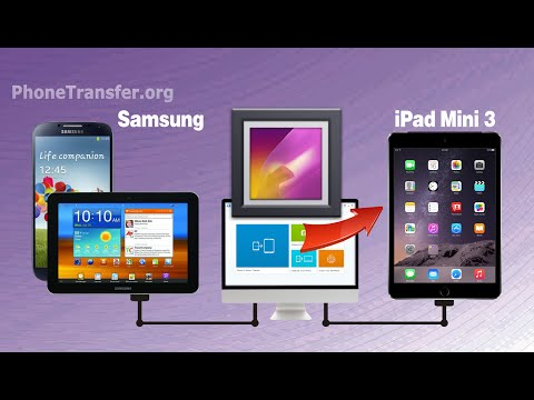 How to Transfer Photos from Samsung Phone to iPad Mini 4, Sync Samsung Pictures with iPad Mini 3
