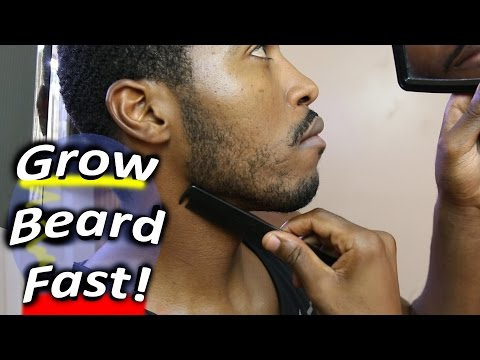 How to Grow a Beard Faster Naturally at Home!