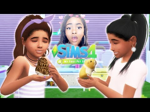 WITTLE HAMSTER 🐹😍😱 | THE SIMS 4: MY FIRST PET STUFF OVERVIEW