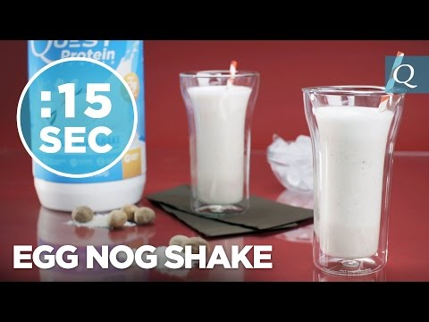 Eggnog Recipe - #15SecondRecipes