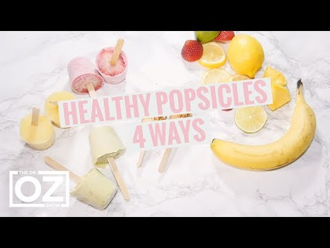 4 Ways to Make Healthy Popsicles