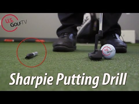 How Can a Sharpie Help Your Putting?