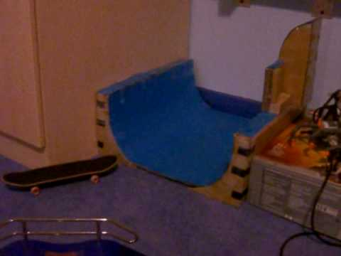 My Homemade Tech Deck Skatepark