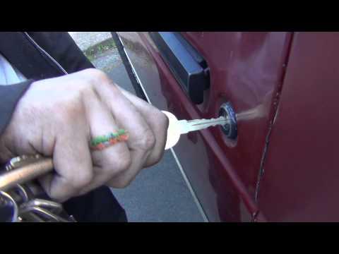 Chevy S10 Lock Cylinder Goof
