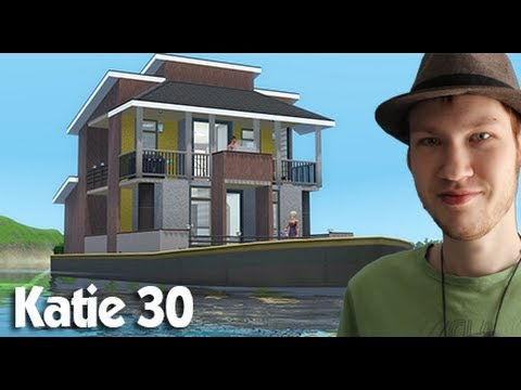 The Sims 3 House building - Katie 30 (Houseboat)