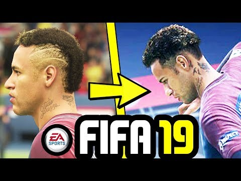 8 NEW FACES ADDED TO FIFA 19 (NEYMAR, SAUL & MORE) - FIFA 19 New Faces - FIFA 19 Official Reveal