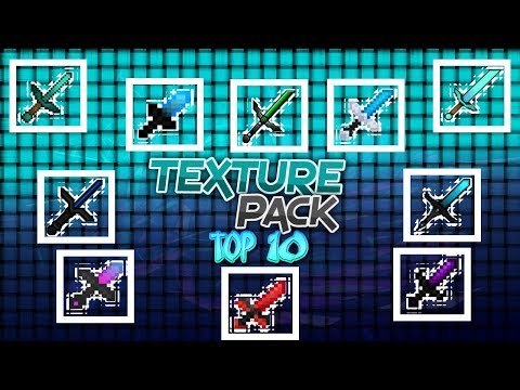 Minecraft PE TOP 10 Texture Pack 1.2.13 For IOS/Android/Windows 10 (Acidic Blitzz, ZickZack, Stimpy)