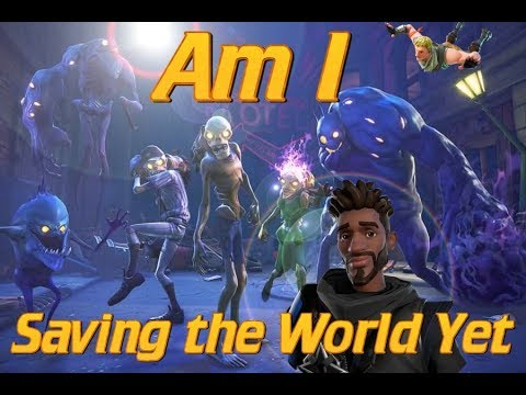 Fortnite Save The World | Are they NPCs or Real People I Wonder | Fortnite Lets Play EP2