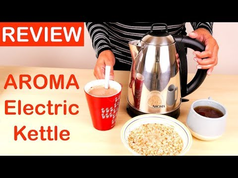 Aroma Electric Kettle Review