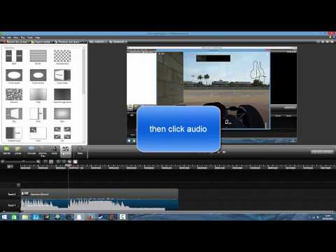how to make commentary clearer in camtasia