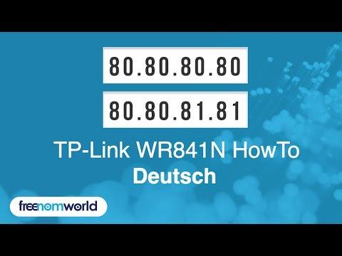 Freenom World TP-Link WR841N HowTo (German)