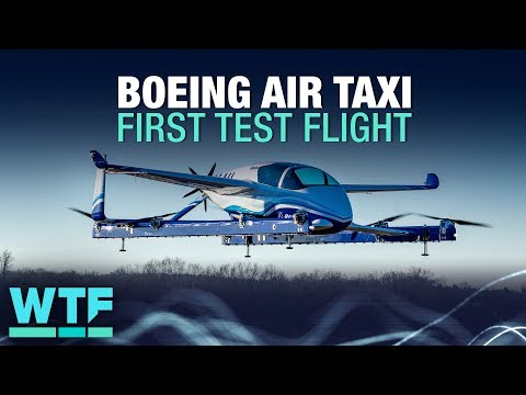 Boeing air taxi completes first test flight   What The Future