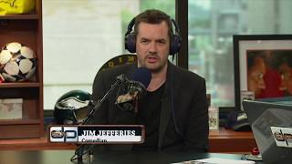 Actor/Comedian Jim Jefferies on The Dan Patrick Show | Full Interview | 8/10/17